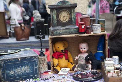 Trödelmarkt auch für Kinder ein Erlebnis